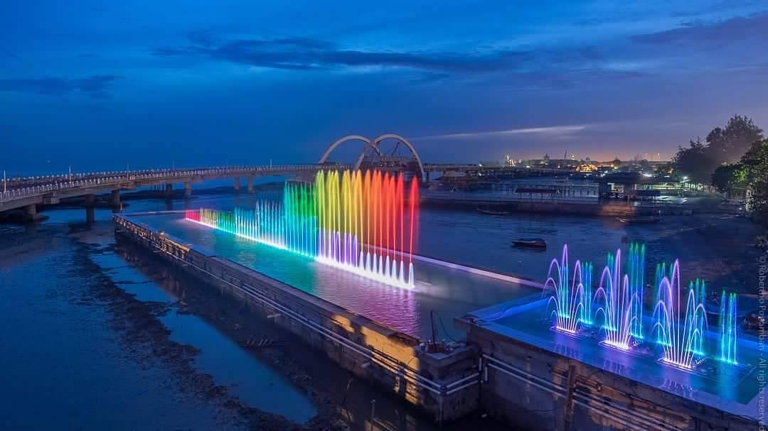Jembatan Suroboyo Primadona Kota Surabaya Maknews Home Reportase Kenjeran
