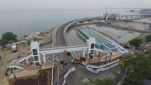 Jembatan Thp Kenjeran Segera Diresmikan Berita Informasi Surabaya Kota