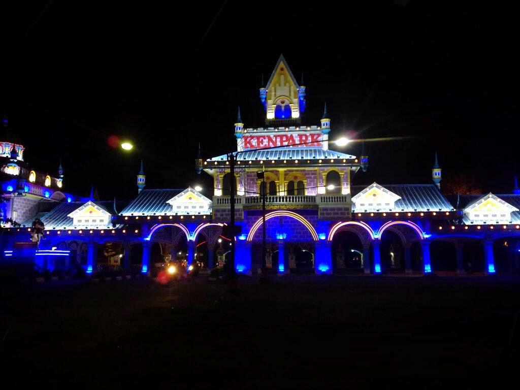 Kenjeran Berkonsep Singapore Universal Studio Jembatan Surabaya Kota