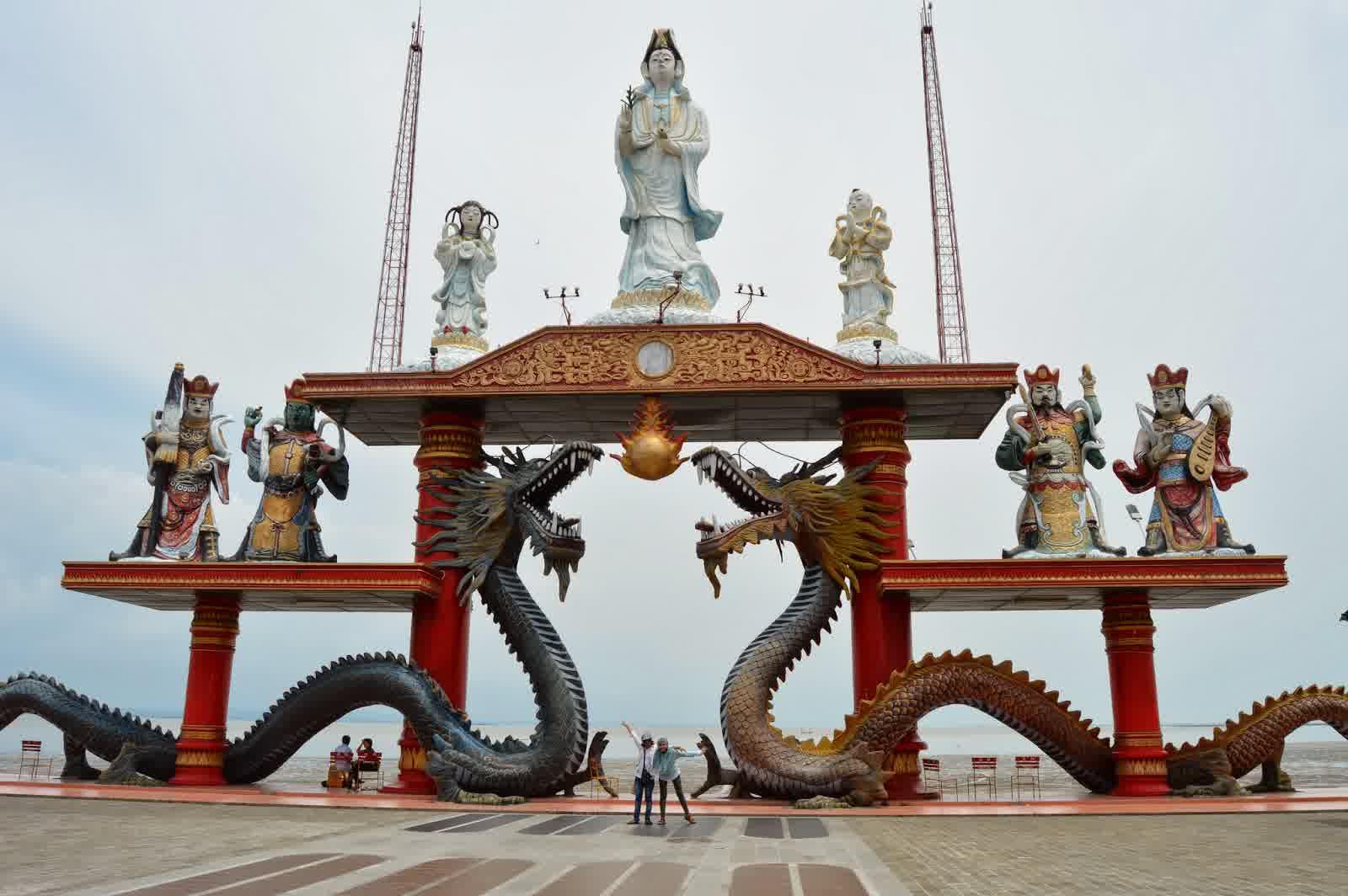Park Menjadi Ikon Wisata Surabaya Kenjeran Jembatan Kota