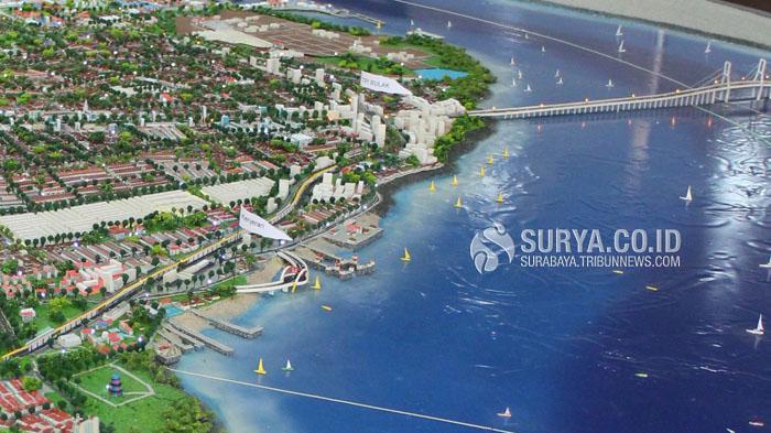Pengerjaan Jembatan Kenjeran Molor Anggota Dewan Gerah Surya Surabaya Kota