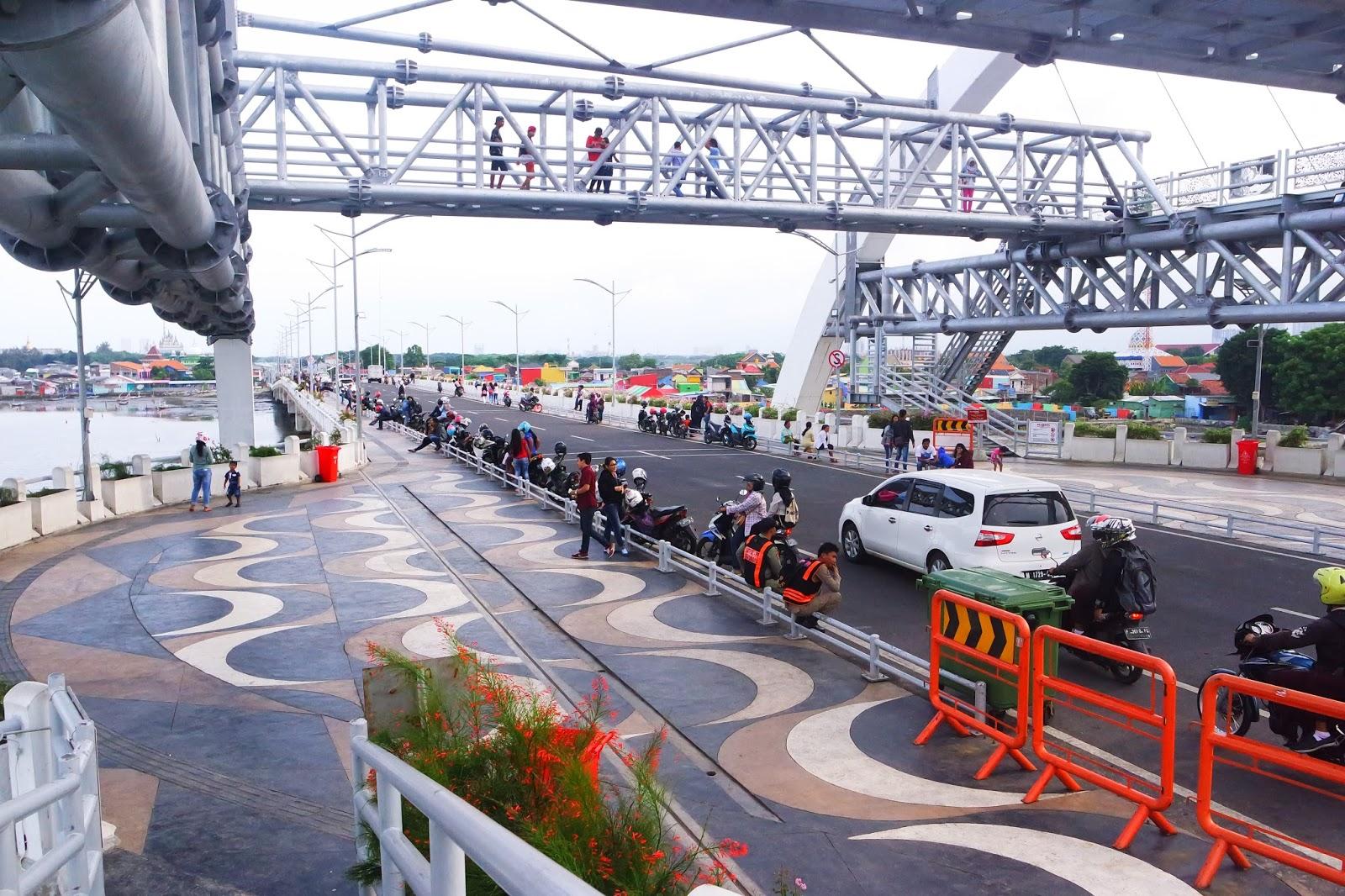 Pesona Keindahan Jembatan Kenjeran Surabaya Good Time Place Soo Tunggu