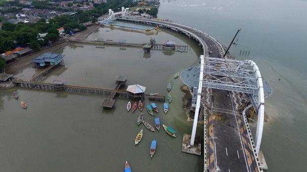 Risma Resmikan Jembatan Kenjeran Alasannya Memiliki Ketinggian 20 Meter Atas