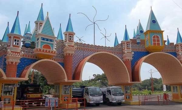 Wisata Pantai Kenjeran Surabaya Sejarahunik Net Jembatan Kota