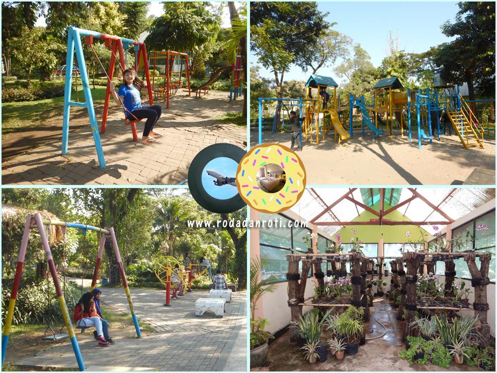 Kebun Bibit Wonorejo Rungkut Surabaya Roda Roti Fasilitas Kota
