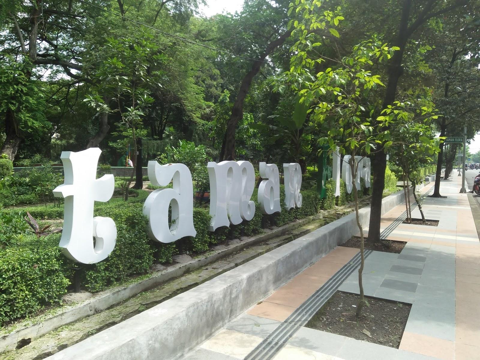 Keindaha Taman Bibit Surabaya Keindahan Flora Kebun Biasa Disebut Kota