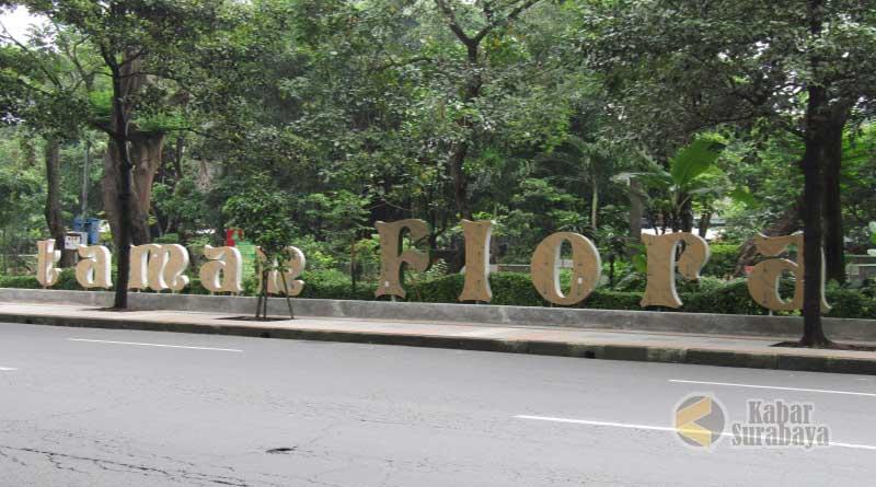 Taman Flora Bratang Surabaya Surga Oksigen Murah Meriah Kabar Kebun