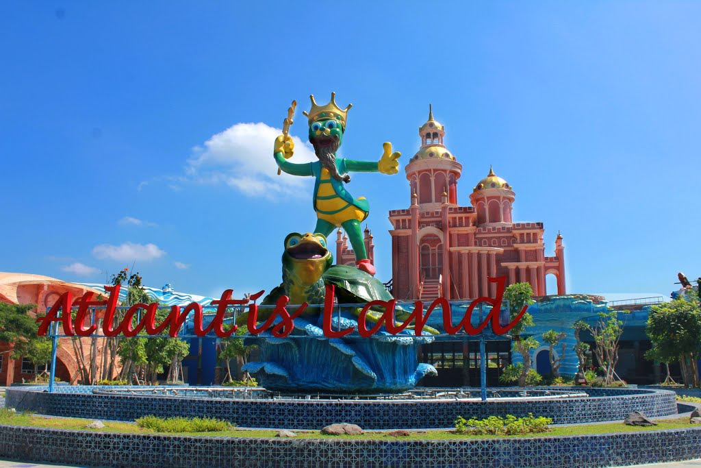 Atlantis Land Kenpark Surabaya Kabar Wisata Ken Park Wahana Terbaru