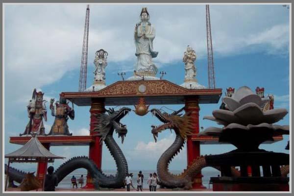 Klenteng Sanggar Agung Tempat Ibadah Sekaligus Wisata Surabaya Kota