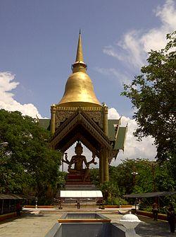 Sanggar Agung Wikipedia Phra Phrom Stupa Edit Klenteng Kota Surabaya
