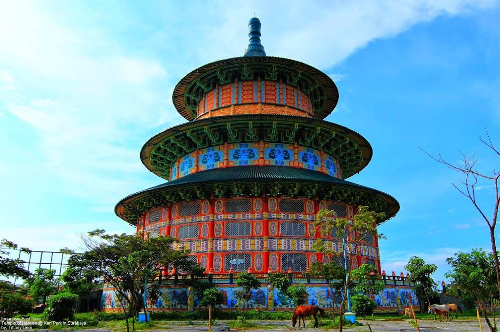 Tempat Wisata Surabaya Archives Reresepan Pagoda Tian Ti Serasa Berwisata