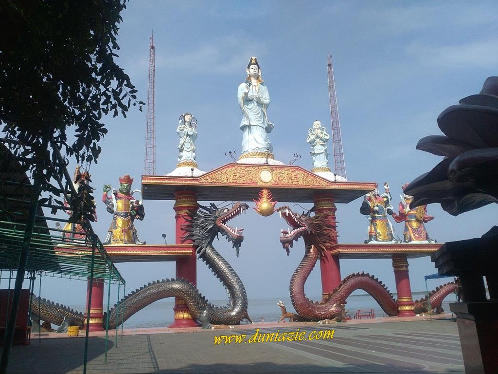 Wisata Kenjeran Park Surabaya Rumah Cinta Zie 3 Patung Budha