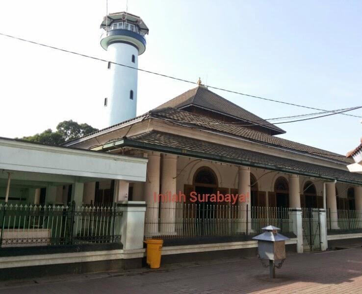 Inilah Surabaya 10 Masjid Dikunjungi Ampel Kota