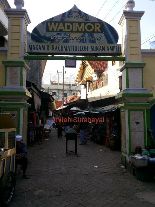Inilah Surabaya Kawasan Wisata Religi Sunan Ampel Kampung Arab Masjid