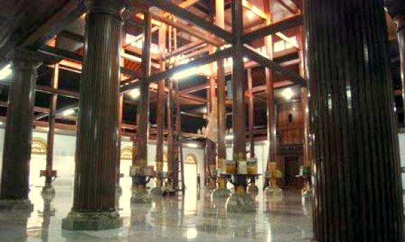 Kubah Masjid Ampel Surabaya Kontraktor Cv Cahaya Interior Sunan Kota