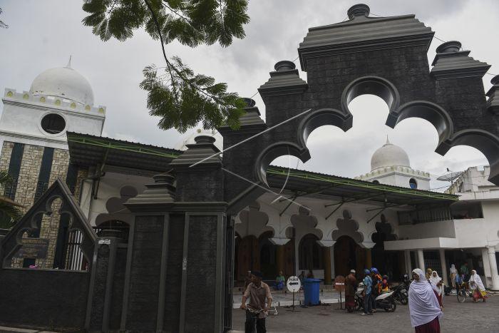Masjid Rahmat Surabaya Antara Foto Tersebut Salah Satu Tertua Peninggalan