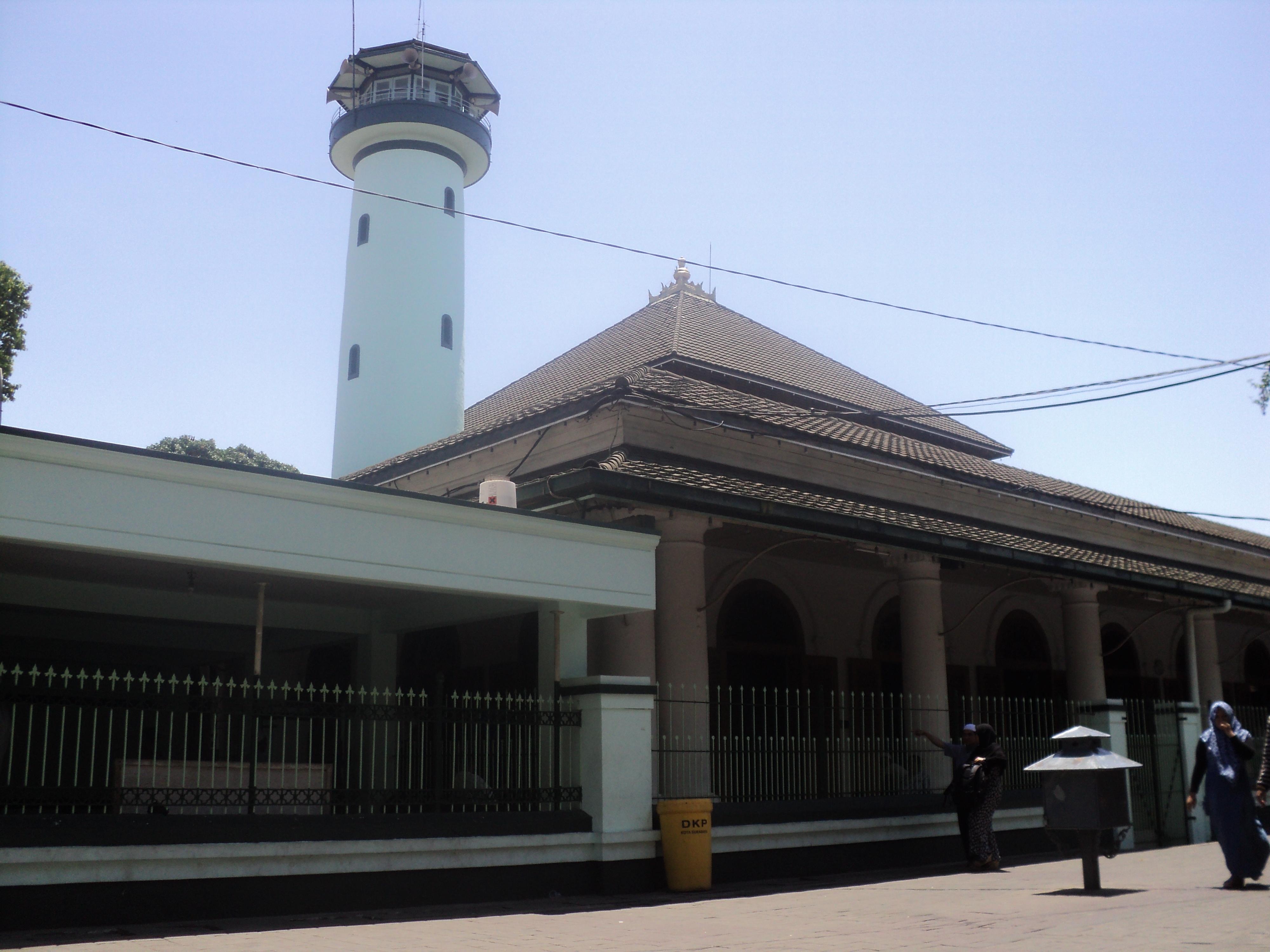 Masjid Sunan Ampel Pesona Cagar Budaya Surabaya Kota