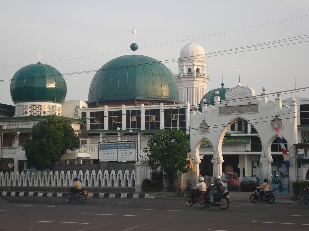 Mengenang Sejarah Wisata Religi Masjid Kemayoran Panduan Surabaya Ampel Kota
