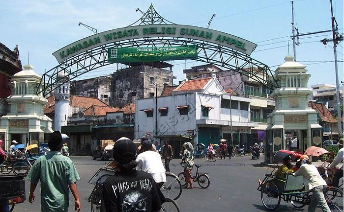 Wisata Khas Ramadhan Surabaya Religi Ampel Evora Hotel Masjid Kota