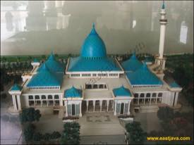 Surabaya Al Akbar National Mosque Biggest South East Asia Complex