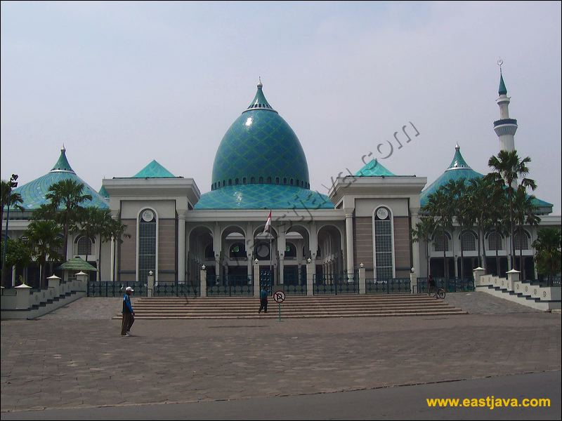 Surabaya Al Akbar National Mosque Biggest South East Asia Masjid