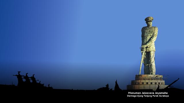 10 Patung Ikonik Terbaik Indonesia Colour Jalesveva Jayamahe Surabaya Monumen