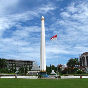 Destinations Hotel Gunawangsa Surabaya Tugu Pahlawan Sebuah Monumen Menjadi Markah