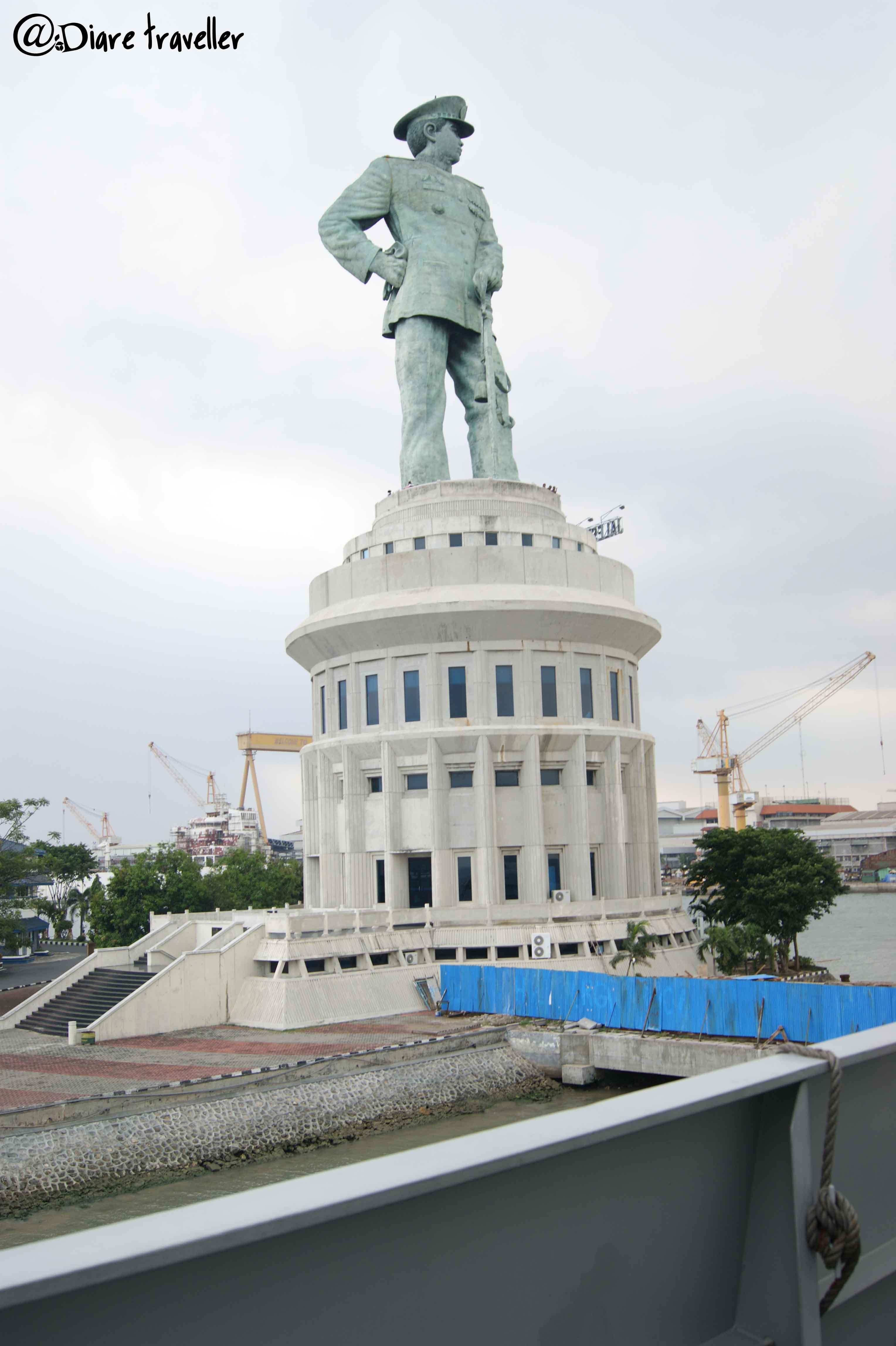 Monumen Jalesveva Jayamahe Eiffel Surabaya Diare Photography Sony Dsc Kota