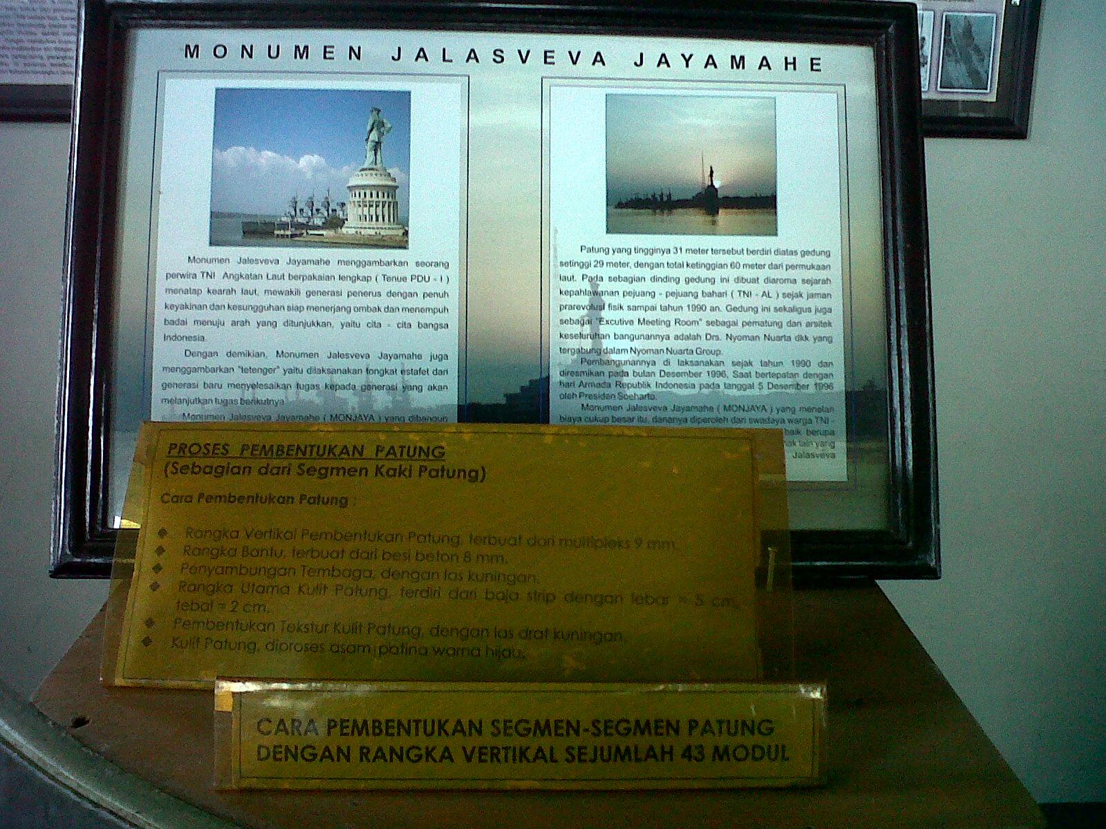 Monumen Jalesveva Jayamahe Lambang Kejayaan Laut Indonesia Wisata 5 Kota