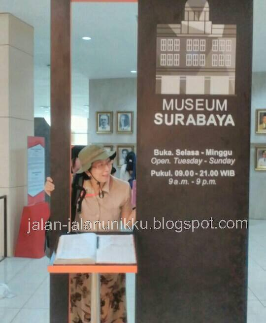 Jalan Unikku Museum Surabaya Gedung Siola Tunjungan Museumnya Sendiri Jadi