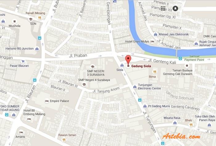 Melihat Sisi Lampau Surabaya Museum Peta Lokasi Gedung Siola Kota