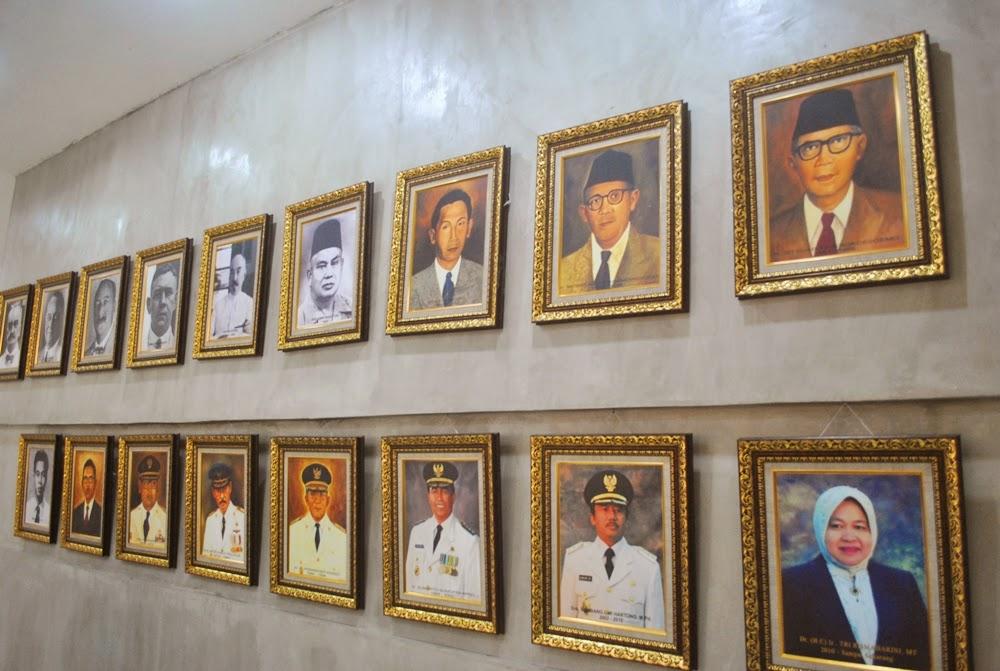 Museum Surabaya Alternatif Berwisata Sejarah Deretan Foto Walikota Menjabat Gedung