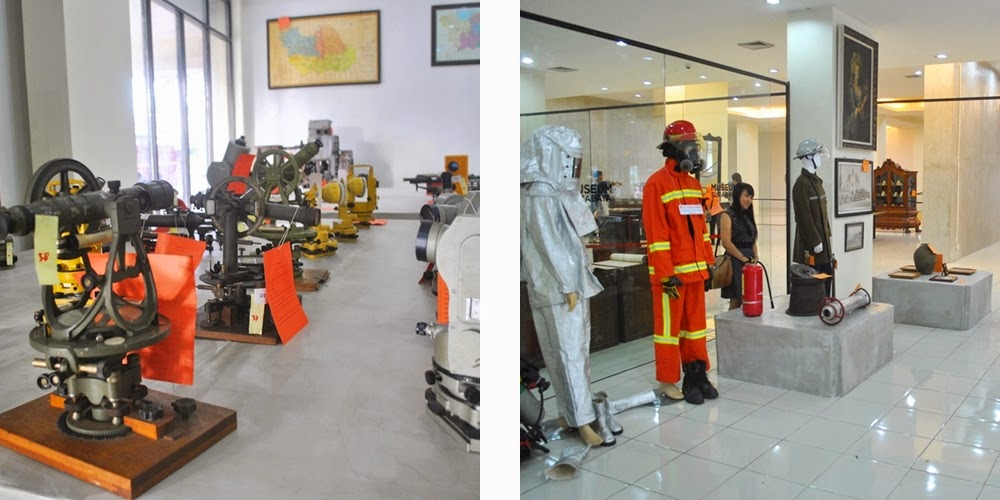 Museum Surabaya Alternatif Berwisata Sejarah Kiri Koleksi Alat Ukur Tanah