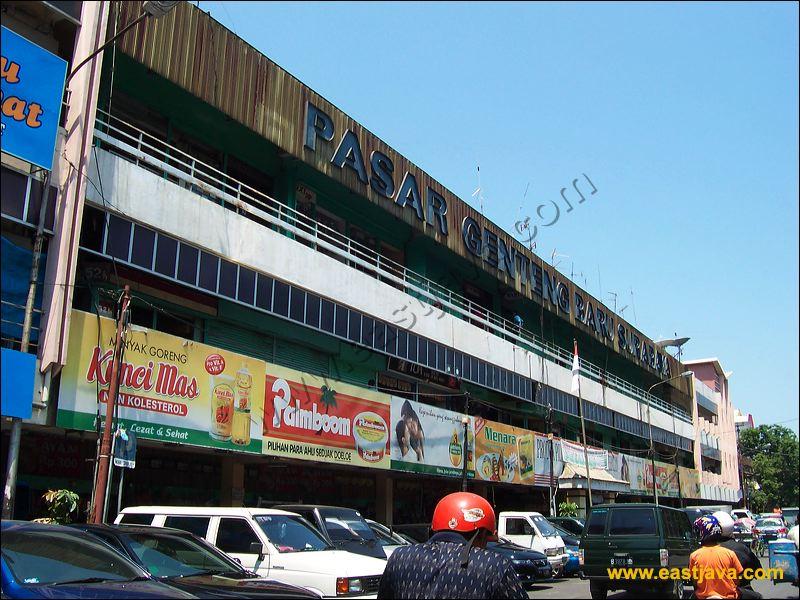 Pasar Genteng Pusat Perdagangan Elektronik Surabaya Bunga Bratang Kota