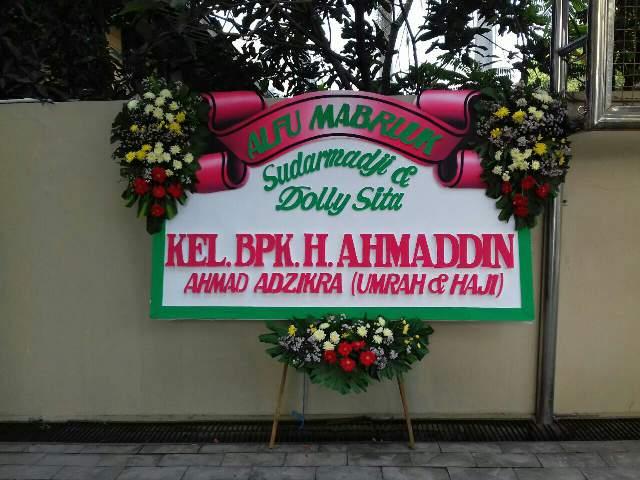 Toko Bunga Surabaya Papan Bucket Pasar Bratang Kota