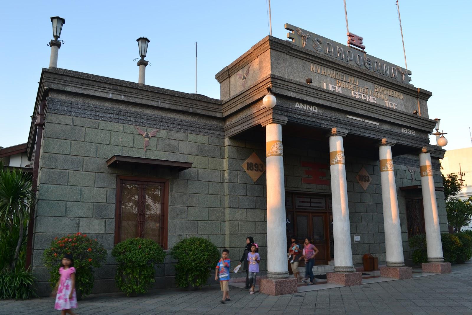 Ayo Berkunjung Museum Sampoerna Surabaya Obyek Wisata Pesona Bromo Rumah