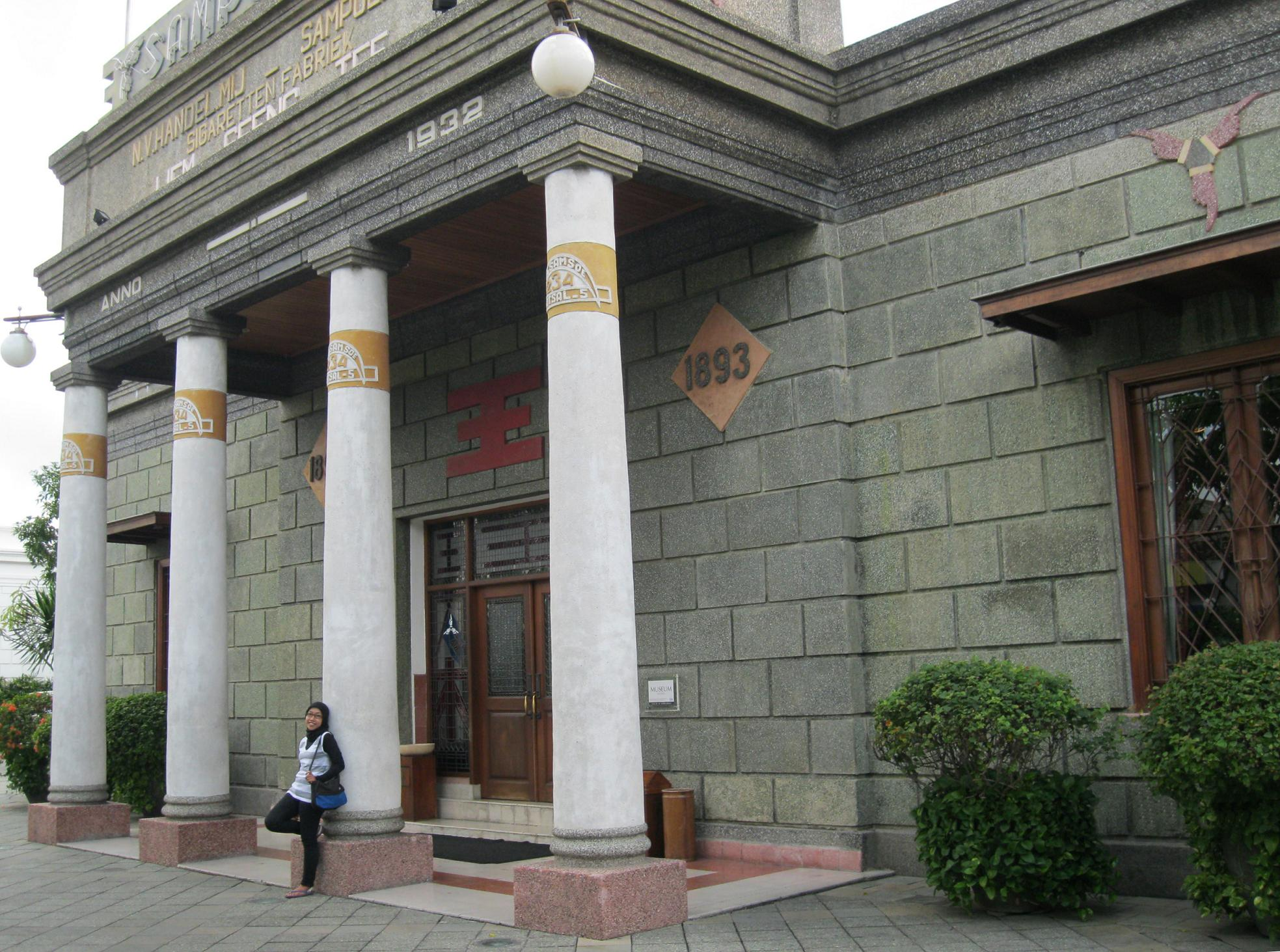House Sampoerna Heritage Travelling Ala Surabaya Ninik Tulisan Rumah Kota