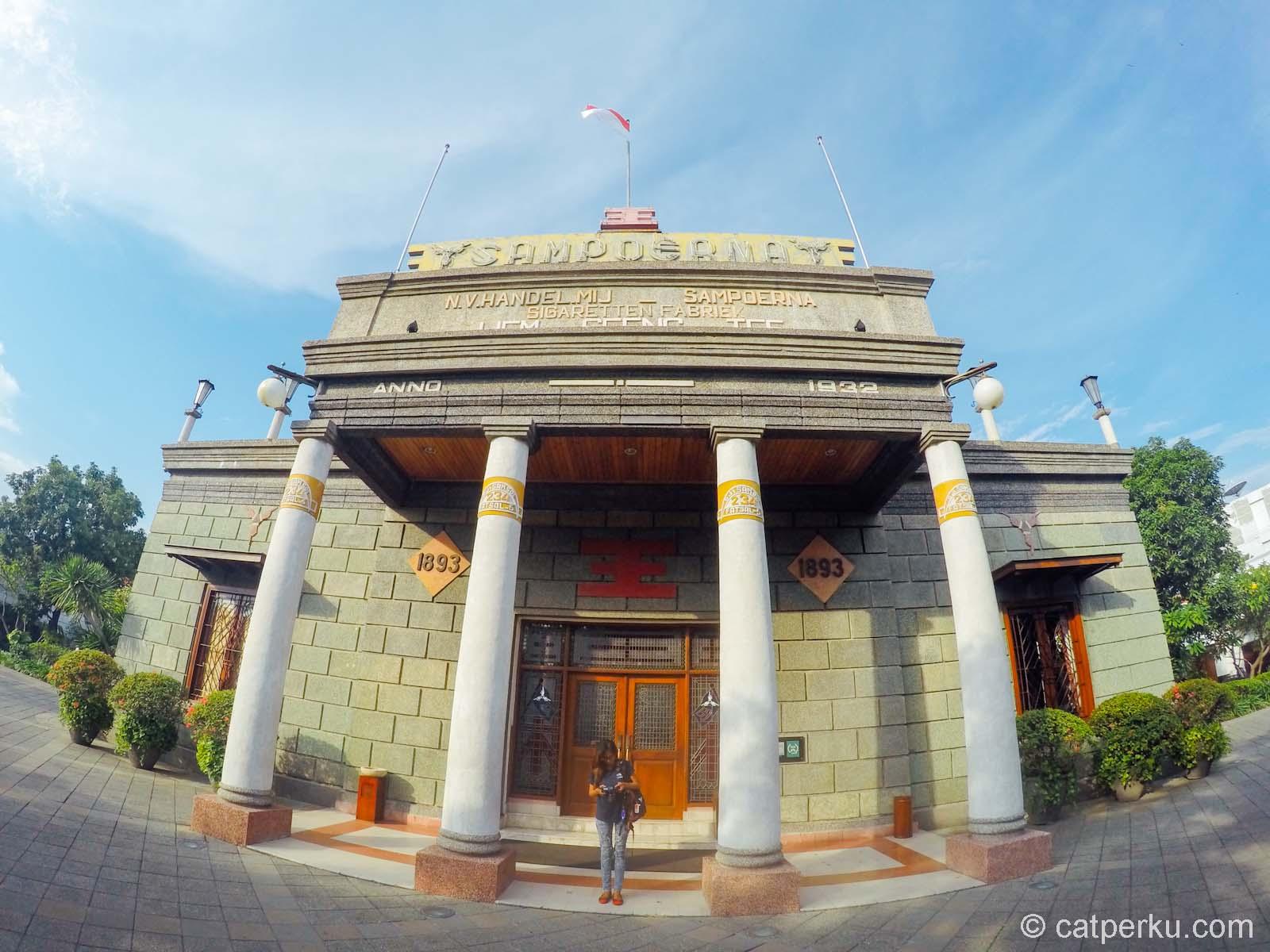 House Sampoerna Museum Keren Surabaya Catperku Rumah Kota