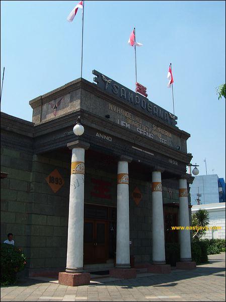 House Sampoerna Surabaya Tempat Bersejarah Terletak Kawasan Rumah Kota