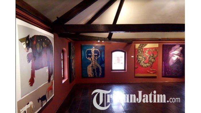 Tak Terduga Pameran Koleksi Lukisan Rancak Galeri House Sampoerna Surabaya