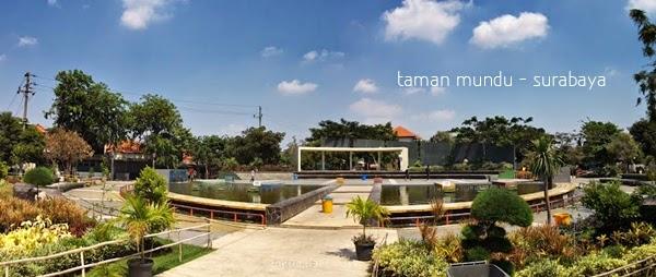 Catatan Kecil Kota Surabaya Taman Mundu Nama Sebuah Terletak Berlokasi