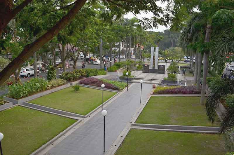 Dkrth Taman Korea Buah Undaan Kota Surabaya