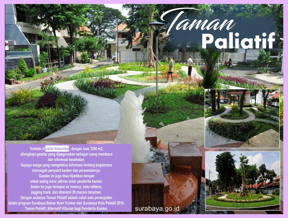 Surabaya Id Taman Paliatif Buah Undaan Kota