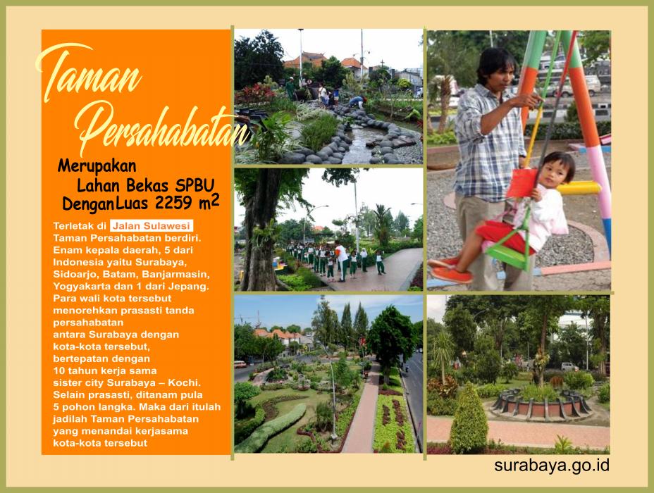 Surabaya Id Taman Persahabatan Buah Undaan Kota