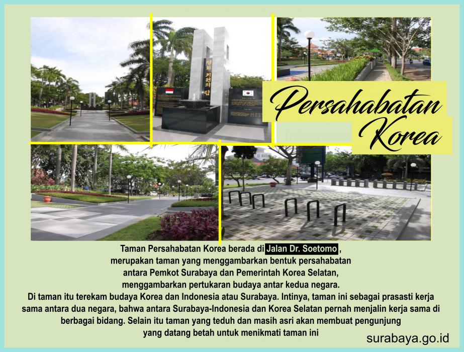 Surabaya Id Taman Persahabatan Indonesia Korea Buah Undaan Kota