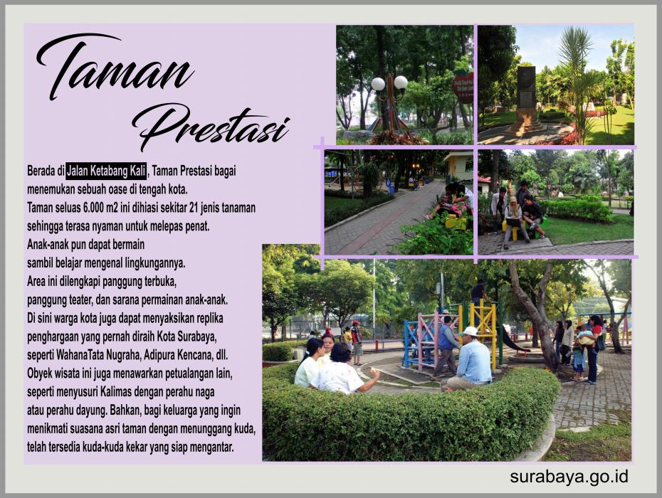 Surabaya Id Taman Prestasi Buah Undaan Kota