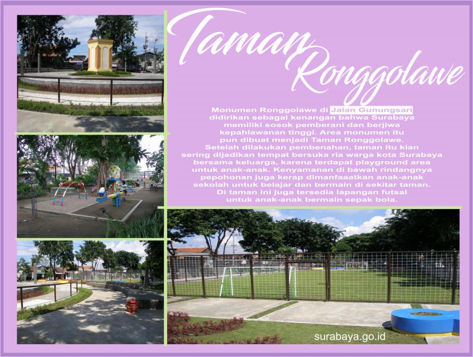 Surabaya Id Taman Ronggolawe Buah Undaan Kota