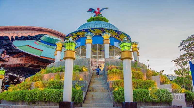Taman Harmoni Keputih Wisata Bunga Sakura Surabaya Kabar Atlantis Land