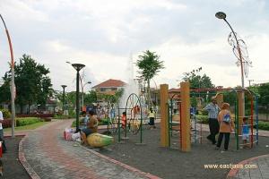 Taman Kota Pahlawan Surabaya Pataga Spbu Jalan Undaan Disulap Menjadi