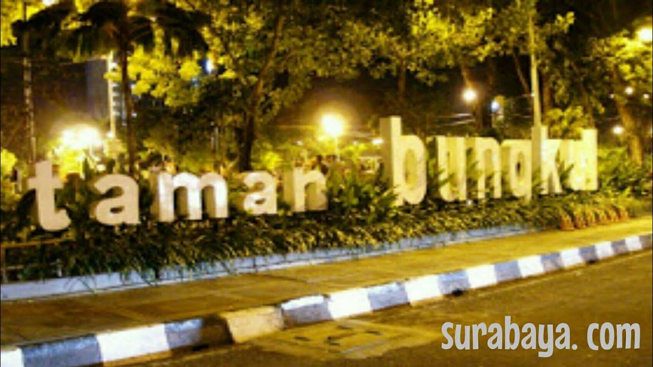 Asyiknya Taman Bungkul Surabaya Youtube Kota